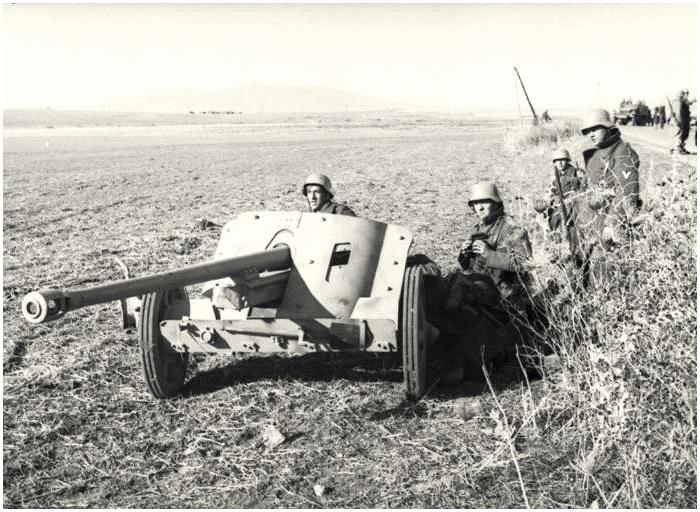 German 50 Mm Anti Tank Gun: 88eng