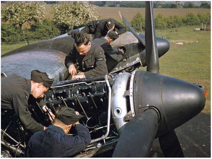 handley page halifax 433 squadron